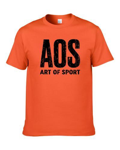 Aos Art Of Sport Deodorant Cool Gift Idea Worn Look T-Shirt
