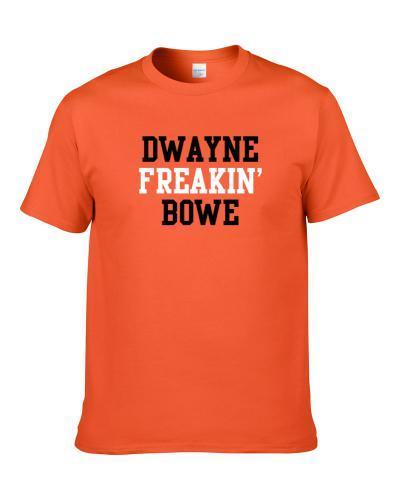Dwayne Freakin' Bowe Cleveland Football Player Cool Fan S-3XL Shirt