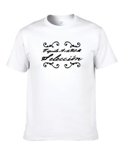 Tequila Artenom Seleccion  Tequila Lovers Logo Apron T-Shirt