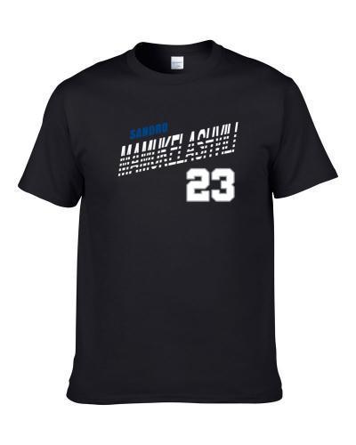 Sandro Mamukelashvili 23 Favorite Player Seton Hall College Basketball Fan Men T Shirt