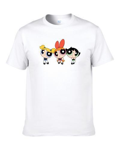 The Powerpuff Girls Kids  Tee tshirt for men