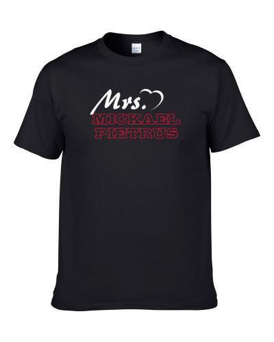 Mrs Mickael Pietrus Phoenix Basketball Player Married Wife Cool Sports Fan TEE