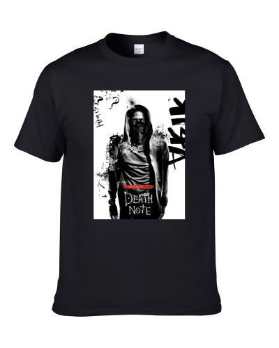 Death Note Anime Poster Men T Shirt