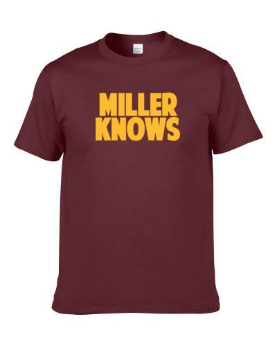 Andre Miller Knows Cleveland Basketball Player Funny Sports Fan Shirt