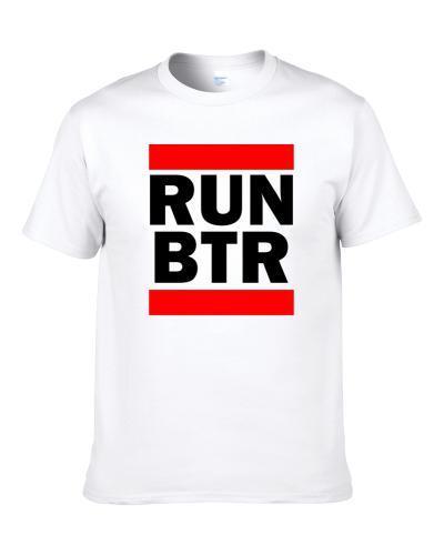 Run Btr La Usa     Funny Graphic Patriotic Parody Shirt