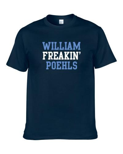 William Freakin' Poehls Tennessee Football Player Cool Fan T Shirt