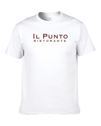 Il Punto Ristorante New York Restaurant Men T Shirt