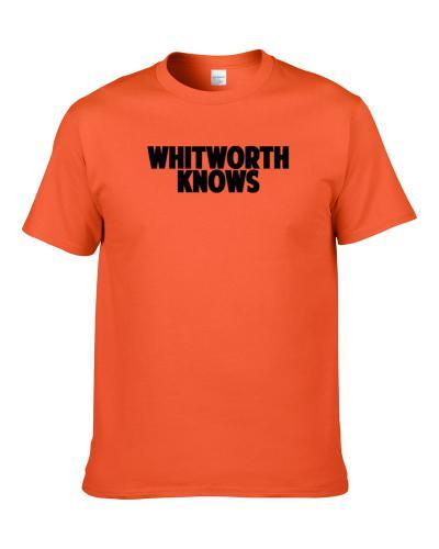 Andrew Whitworth Knows Cincinnati Football Player Sports Fan S-3XL Shirt