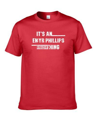 An Emyr Phillips Thing Northern Ireland Rugby Player Worn Look T Shirt