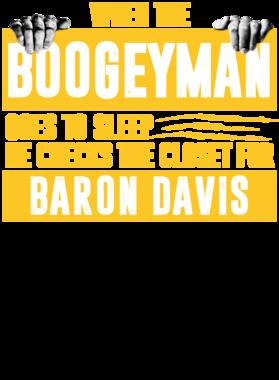 Baron Davis Boogeyman Checks Closet For Golden State Basketball tshirt