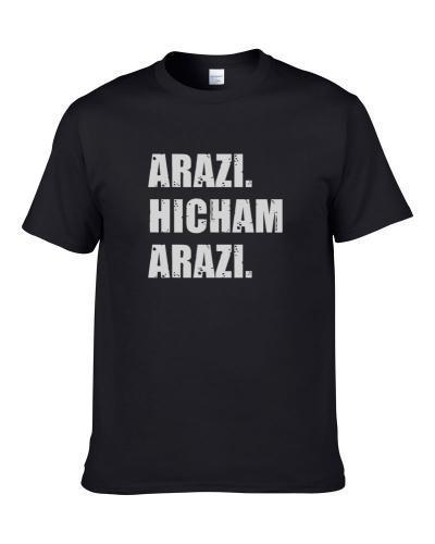 Hicham Arazi Tennis Player Name Bond Parody S-3XL Shirt