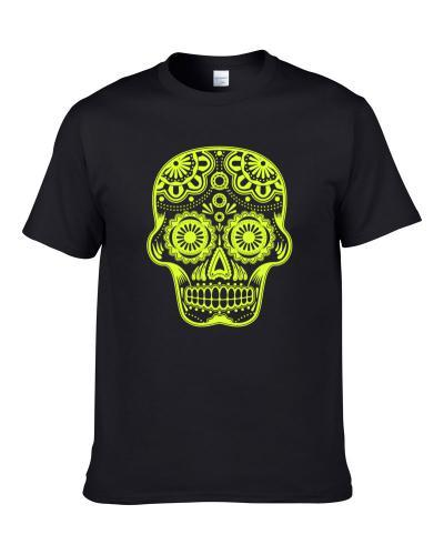 sugar skull mexican day of the dead TEE
