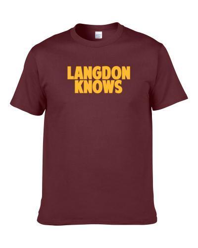 Trajan Langdon Knows Cleveland Basketball Player Funny Sports Fan Men T Shirt