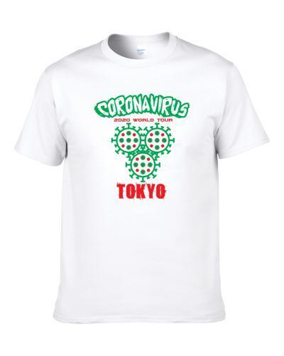 Coronavirus 2020 World Tour Tokyo S-3XL Shirt