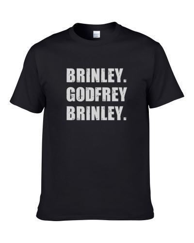 Godfrey Brinley Tennis Player Name Bond Parody S-3XL Shirt