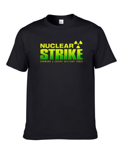 Nuclear Strike Nintendo 64 N64 Video Game Fan Cool Men T Shirt
