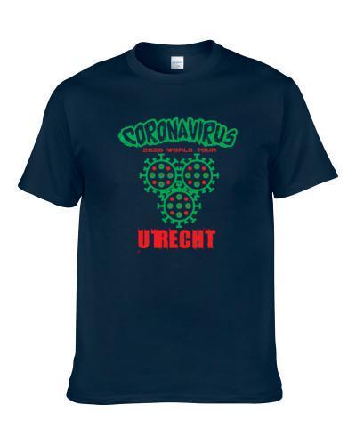 Coronavirus 2020 World Tour Utrecht S-3XL Shirt