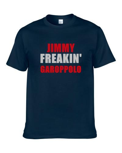 Jimmy Garoppolo Freakin Football Sports New England tshirt for men
