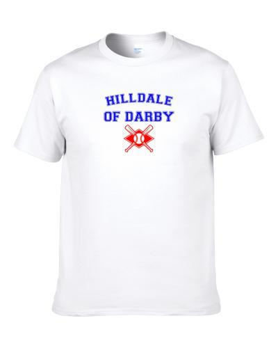 Hilldale Of Darby Eastern Colored League Baseball Logo Men T Shirt