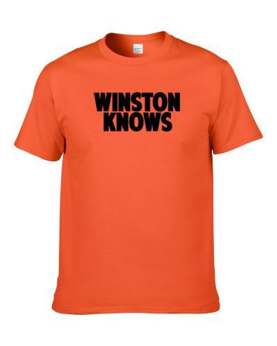 Eric Winston Knows Cincinnati Football Player Sports Fan S-3XL Shirt