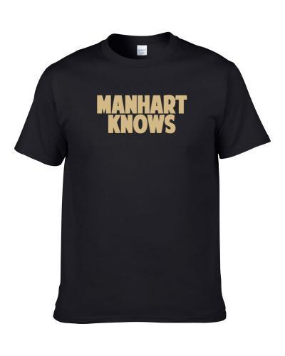 Cole Manhart Knows New Orleans Football Player Sports Fan S-3XL Shirt