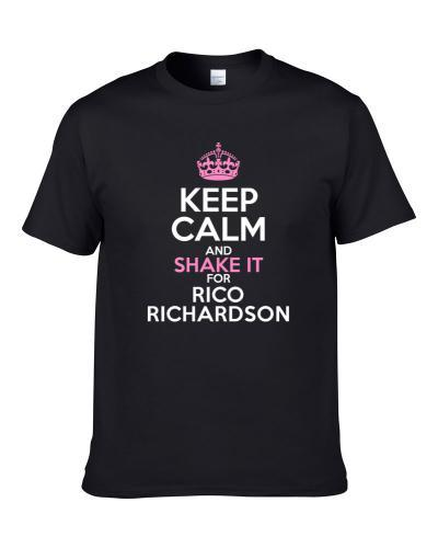 Keep Calm And Shake It For Rico Richardson Tennessee Football Sports Fan S-3XL Shirt