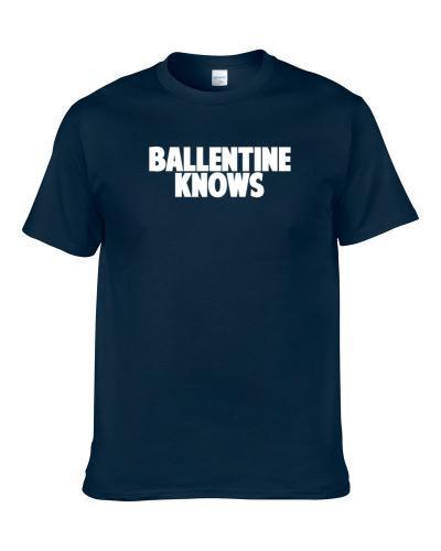 Lonnie Ballentine Knows Houston Football Player Sports Fan S-3XL Shirt