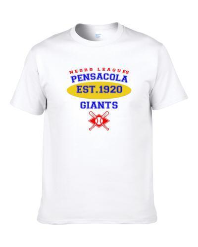 Pensacola Giants Baseball Northern Southern League Colored League Baseball Logo tshirt for men