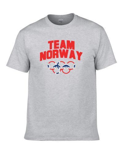 Team Norway Winter Olympics Pyeongchang 2018 tshirt