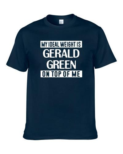 My Ideal Weight Is Gerald Green On Top Of Me Indiana Basketball Player Funny Fan T-Shirt
