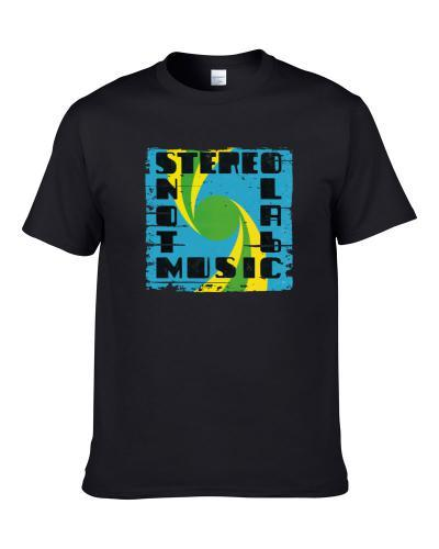 Stereolab Not Music EDM Album Poster Worn Look Music T-Shirt