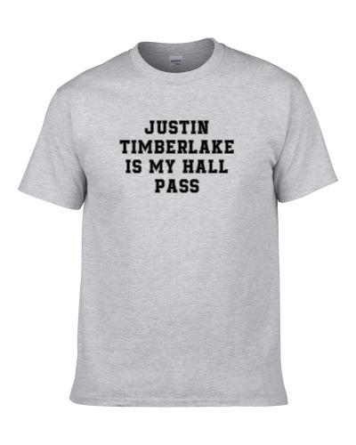 Justin Timberlake Is My Hall Pass Fan Funny Relationship T-Shirt
