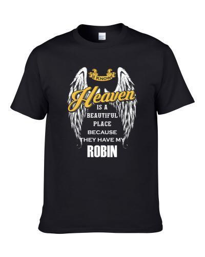Robin Memorial Memorandum Tribute Men T Shirt