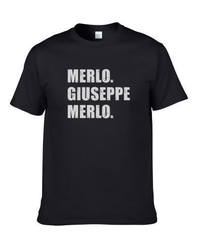 Giuseppe Merlo Tennis Player Name Bond Parody S-3XL Shirt