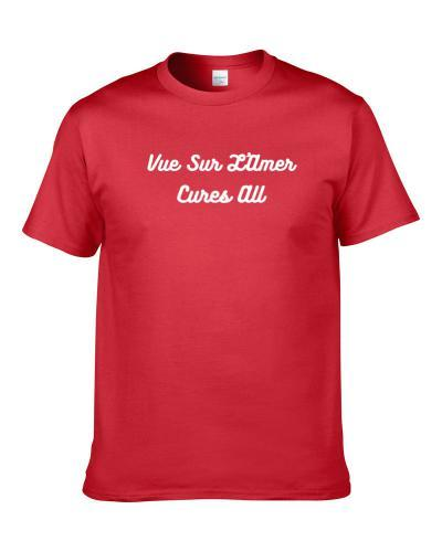 Vue Sur L'Amer Cures All Beer Lover Drinking Gift S-3XL Shirt