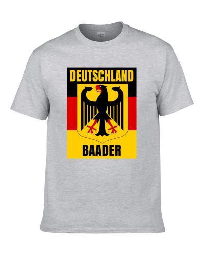 Baader German Coat Of Arms Flag Family Surname Men T Shirt