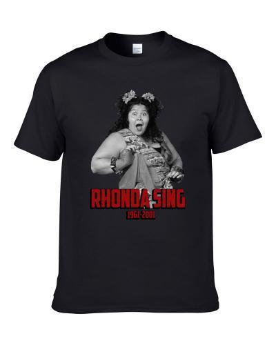 Rhonda Sing Wrestling Memorial Fan Shirt