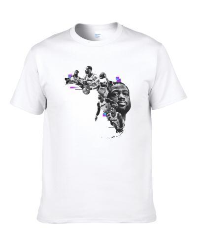 Dwayne Wade Basketball Miami Heat Fan  Tshirt T Shirt
