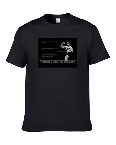 Arnold Schwarzenegger Workout Gym Muscle tshirt