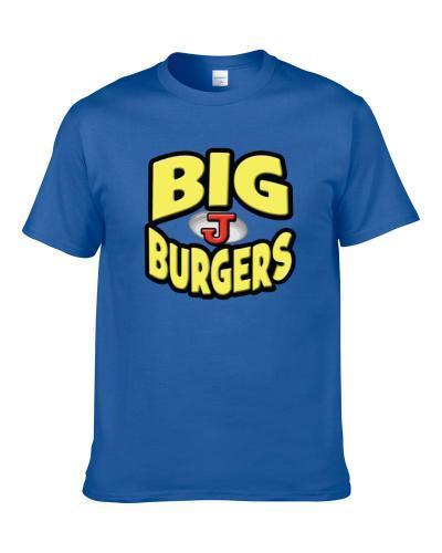 Big Js Burgers Seen In Napoleon Dynamite tshirt for men