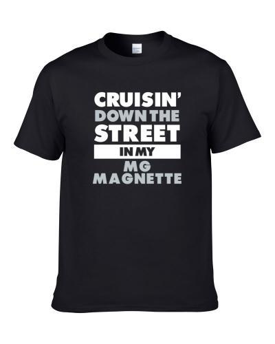 Cruisin Down The Street Mg Magnette Straight Outta Compton Car Hooded Pullover T Shirt