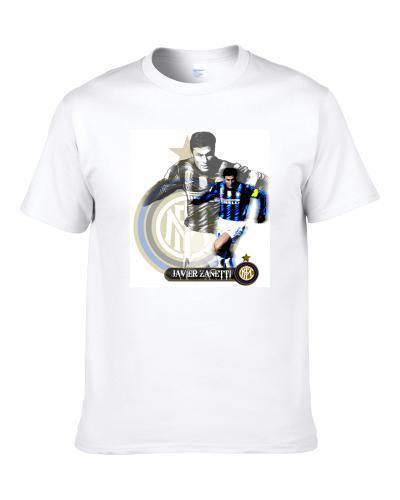 Javier Zanetti Inter Milan Soccer S-3XL Shirt