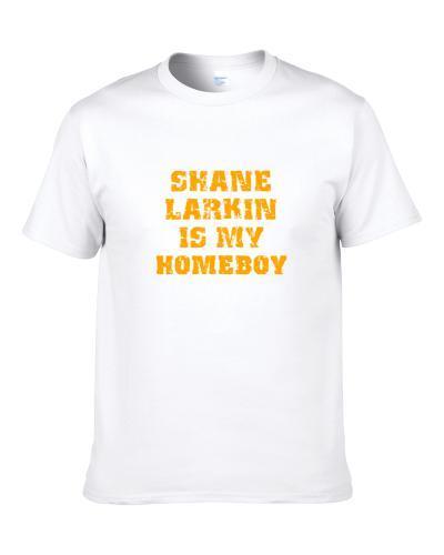 Shane Larkin Is My Homeboy New York Brooklyn New Jersey Basketball Sports Shirt