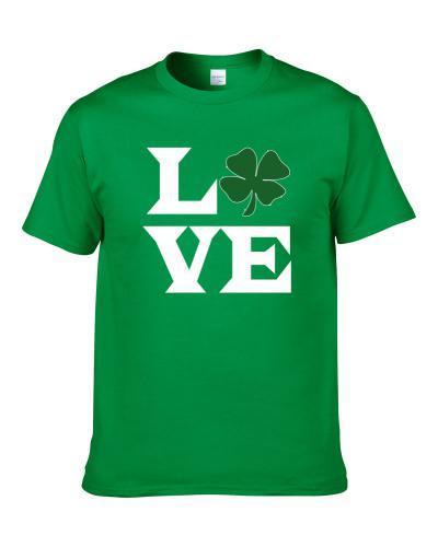 Love St.patrick's Day Gift Shirt For Men