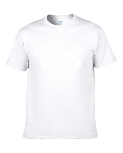 This Girl Loves Scott Name S-3XL Shirt