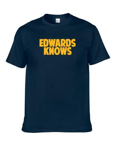 Jahwan Edwards Knows San Diego Football Player Sports Fan S-3XL Shirt