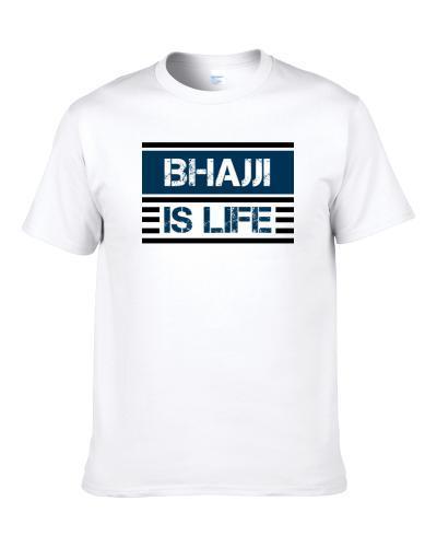 Bhajji Is Life Cool Favorite Food Retro tshirt for men
