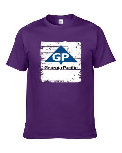 Georgia Pacific Worn look School Supply Men T Shirt