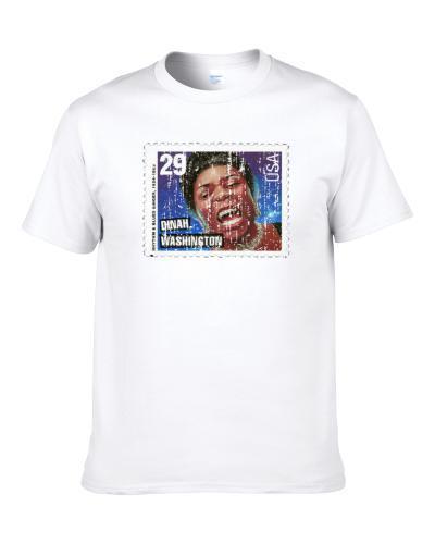 Rythm Blues Dinah Washington Stamp Collector Gift Worn Look Shirt