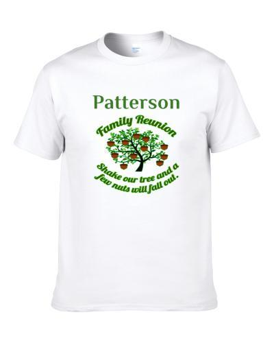 Patterson Family Reunion Shake Our Tree S-3XL Shirt
